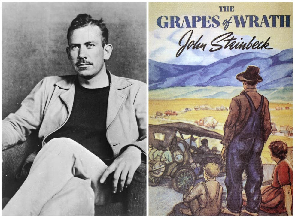 John Steinbeck's Nobel-winning novel follows the dispossessed Joad family as they are driven from their Oklahoma farm during The Great Depression