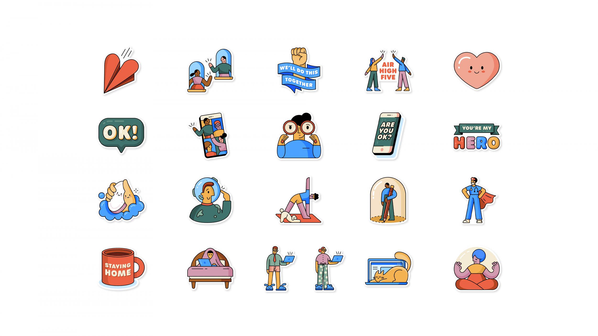 WhatsApp releases new coronavirus-themed stickers to help people ...