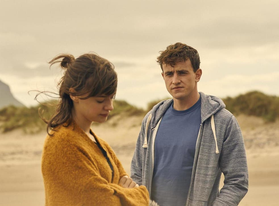 Daisy Edgar-Jones and Paul Mescal as Marianne and Connell in Sally Rooney adaptation 'Normal People'