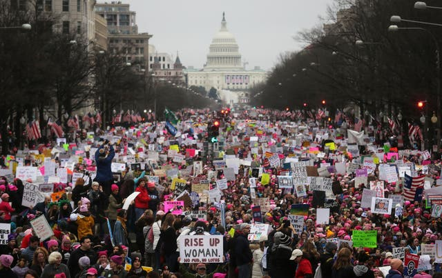 March for Women's Lives: History in pictures