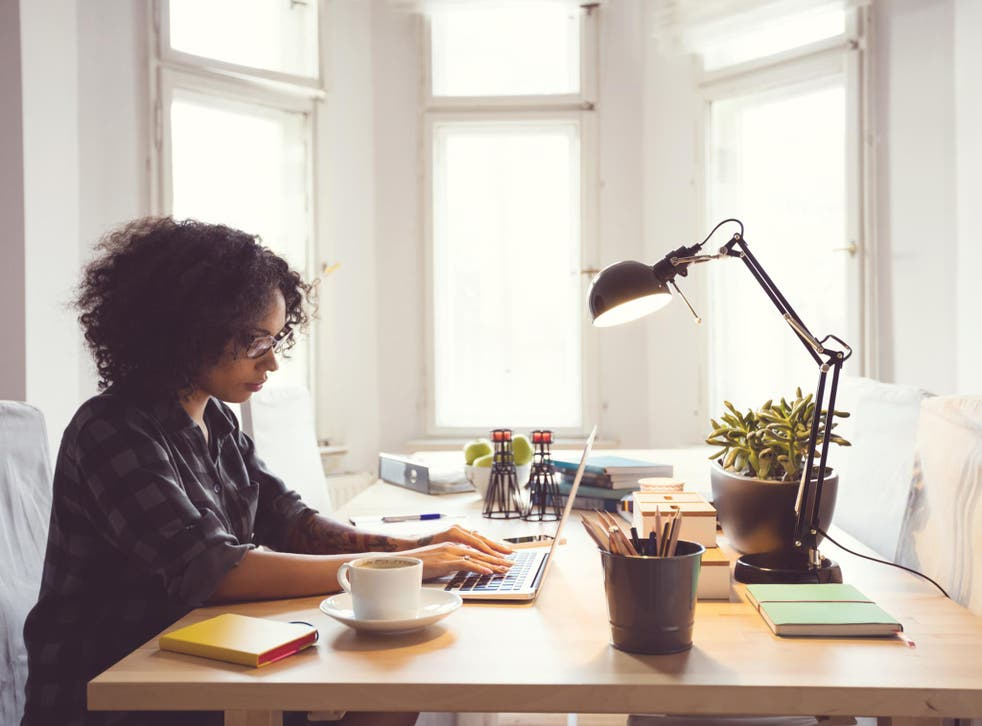 Physiotherapist Josephine O'Callaghan shares how to make working from home as comfortable a possible.
