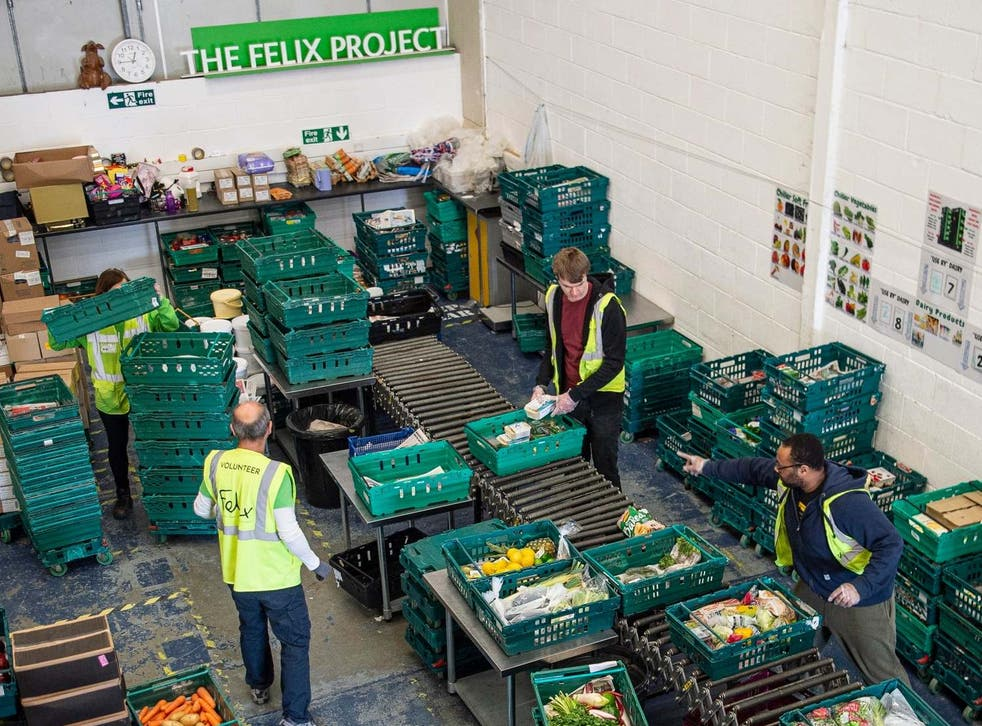 Food deliveries from our appeal partner The Felix Project have been supporting the vulnerable throughout lockdown