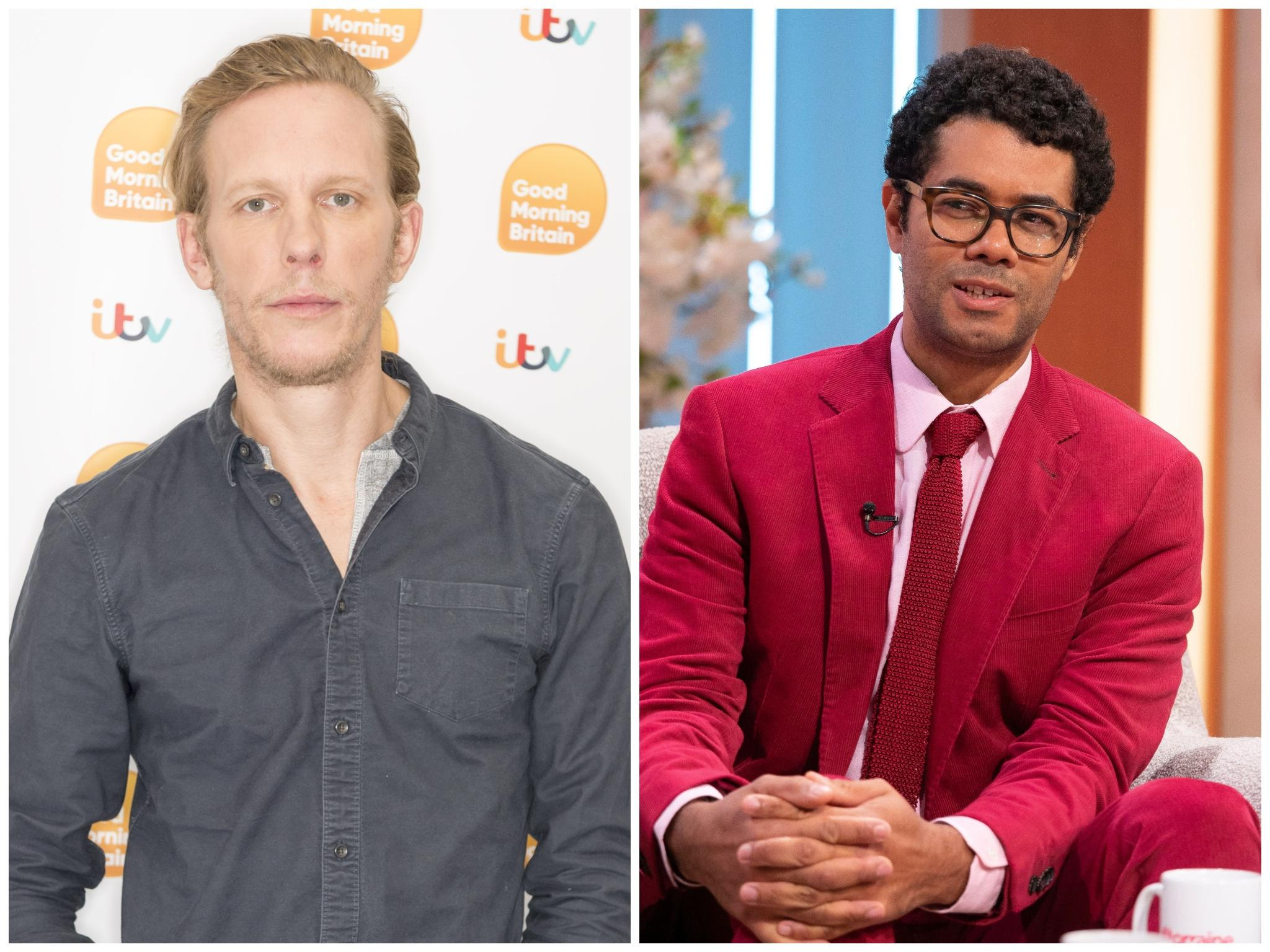 Laurence Fox Reveals Brother In Law Richard Ayoade S Furious Reaction To Question Time Race Row The Independent The Independent