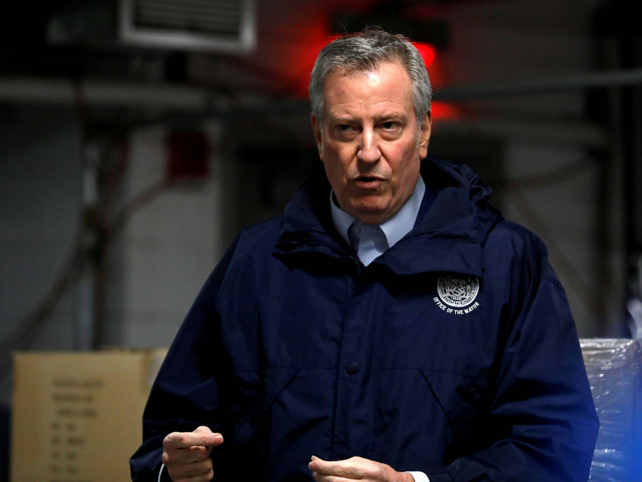 Bill de Blasio issues apology after critics said NYC mayor was 'inviting anti-Semitism' with threats to Jewish community photo