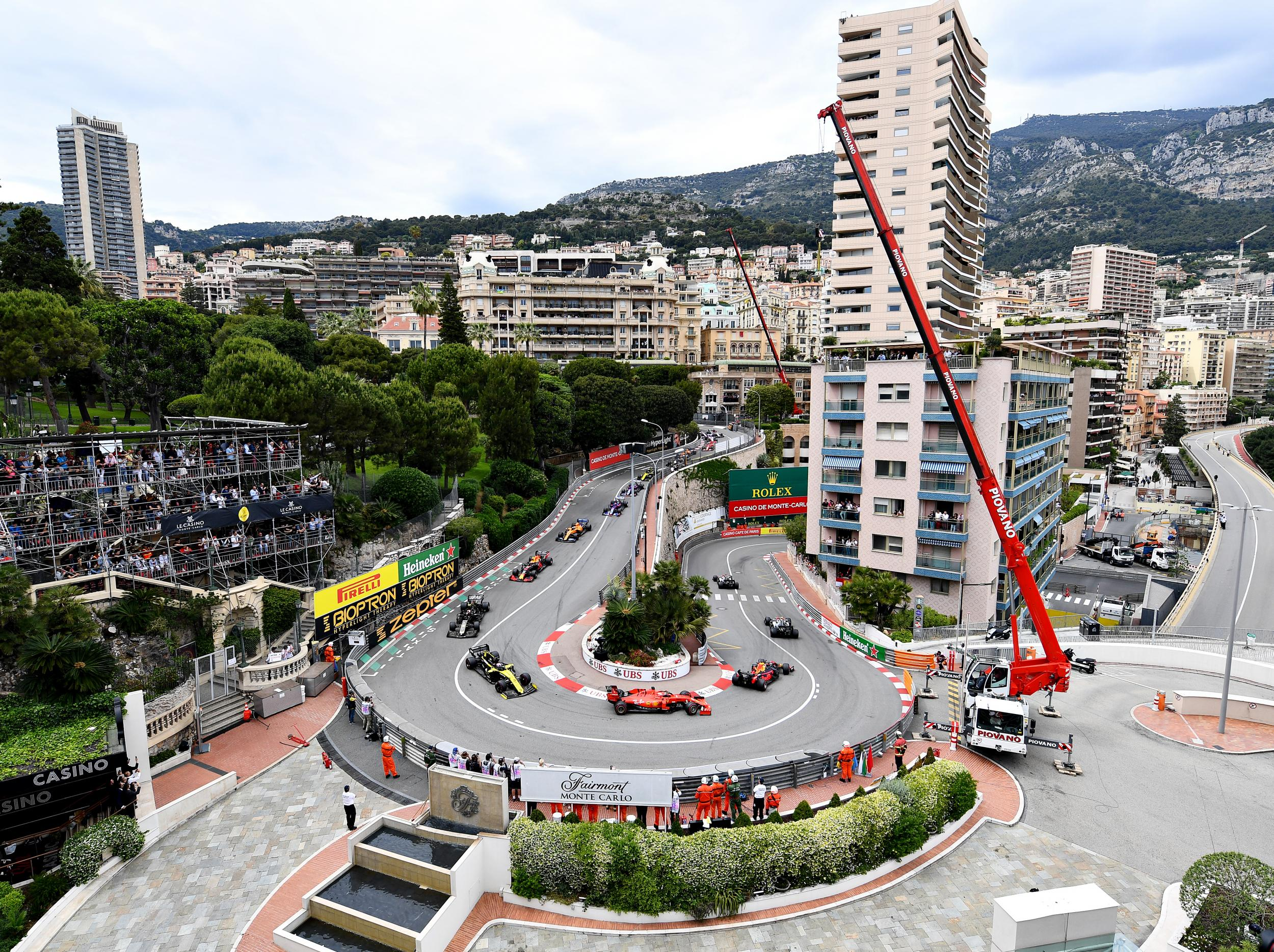 Coronavirus: Champagne stuck on ice in Monaco as Formula One loses its most iconic race