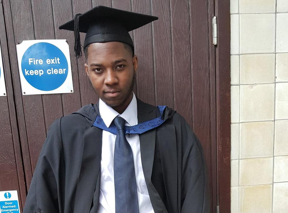 <p>24-year-old&nbsp;David&nbsp;Gomoh&nbsp;stabbed to death in 'unprovoked attack'&nbsp;seconds from home in east London</p>