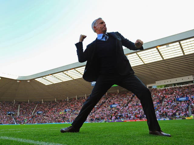 Pardew wants to manage in England again