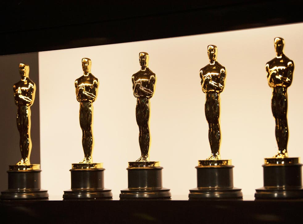 Oscars statuettes at the 92nd Academy Awards on 9 February 2020 in Hollywood, California.