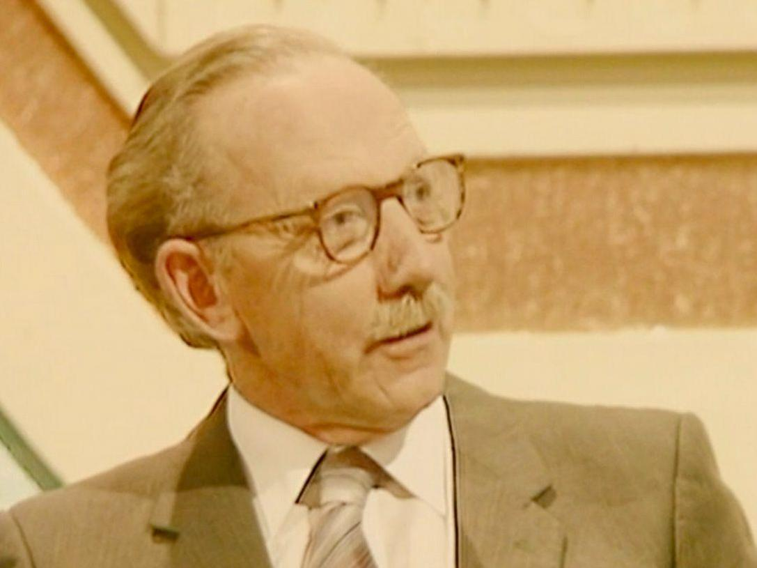Archive footage shows Captain Tom Moore appear on Blankety Blank in 1983