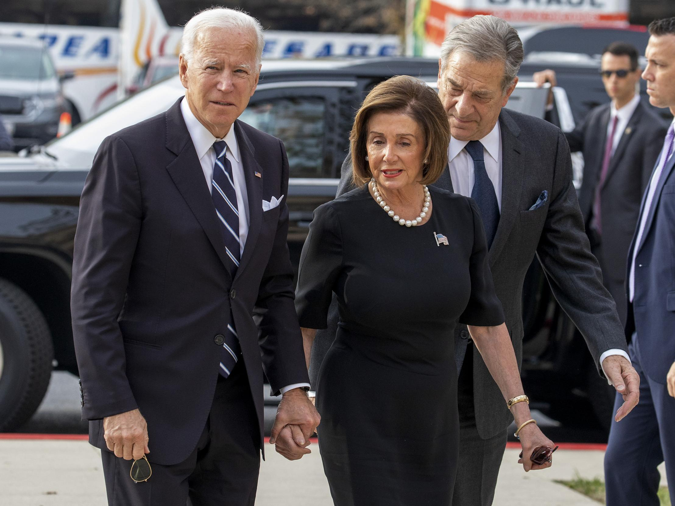 Nancy Pelosi latest high-profile female Democrat to back Joe Biden over sexual assault accusations photo