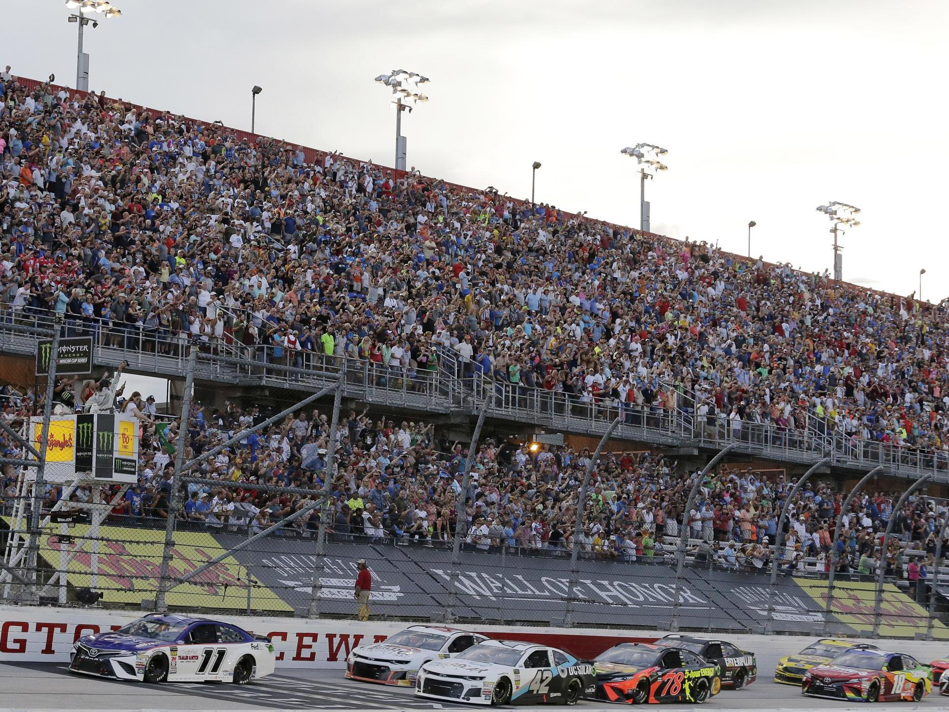 Nascar says it will start racing again in two weeks photo