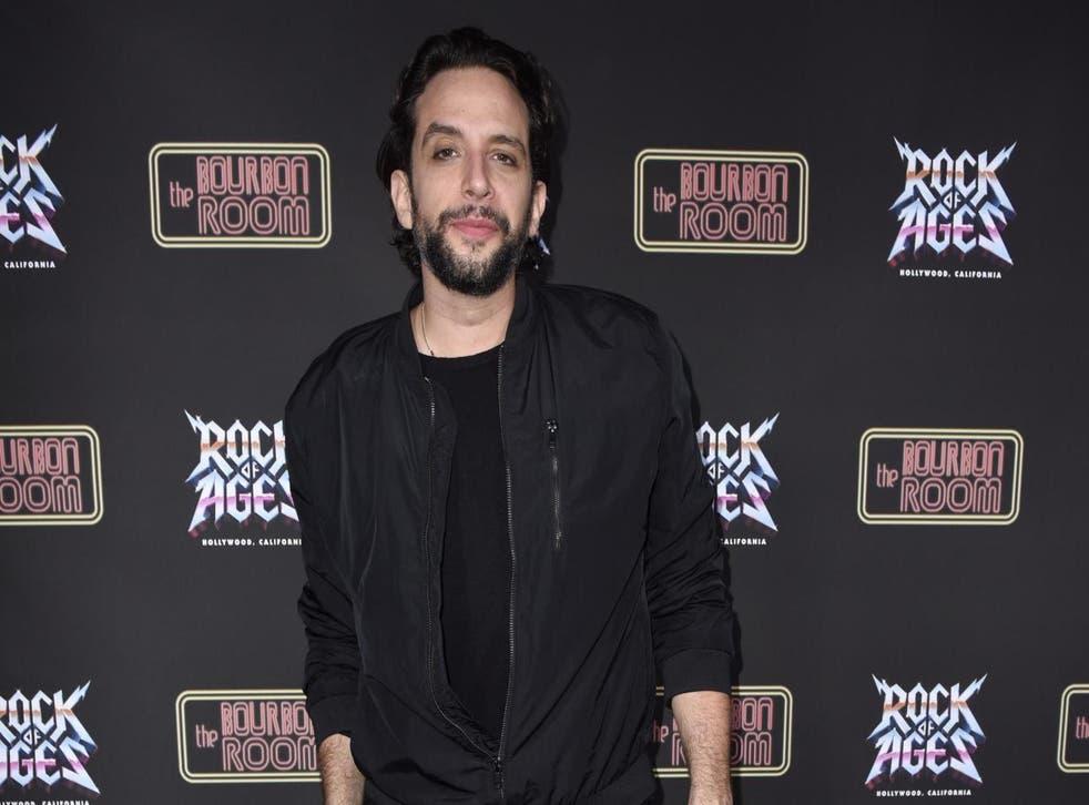 Nick Cordero on 18 December 2019 in Hollywood, California.