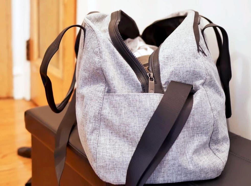A duffel (not duffle) bag