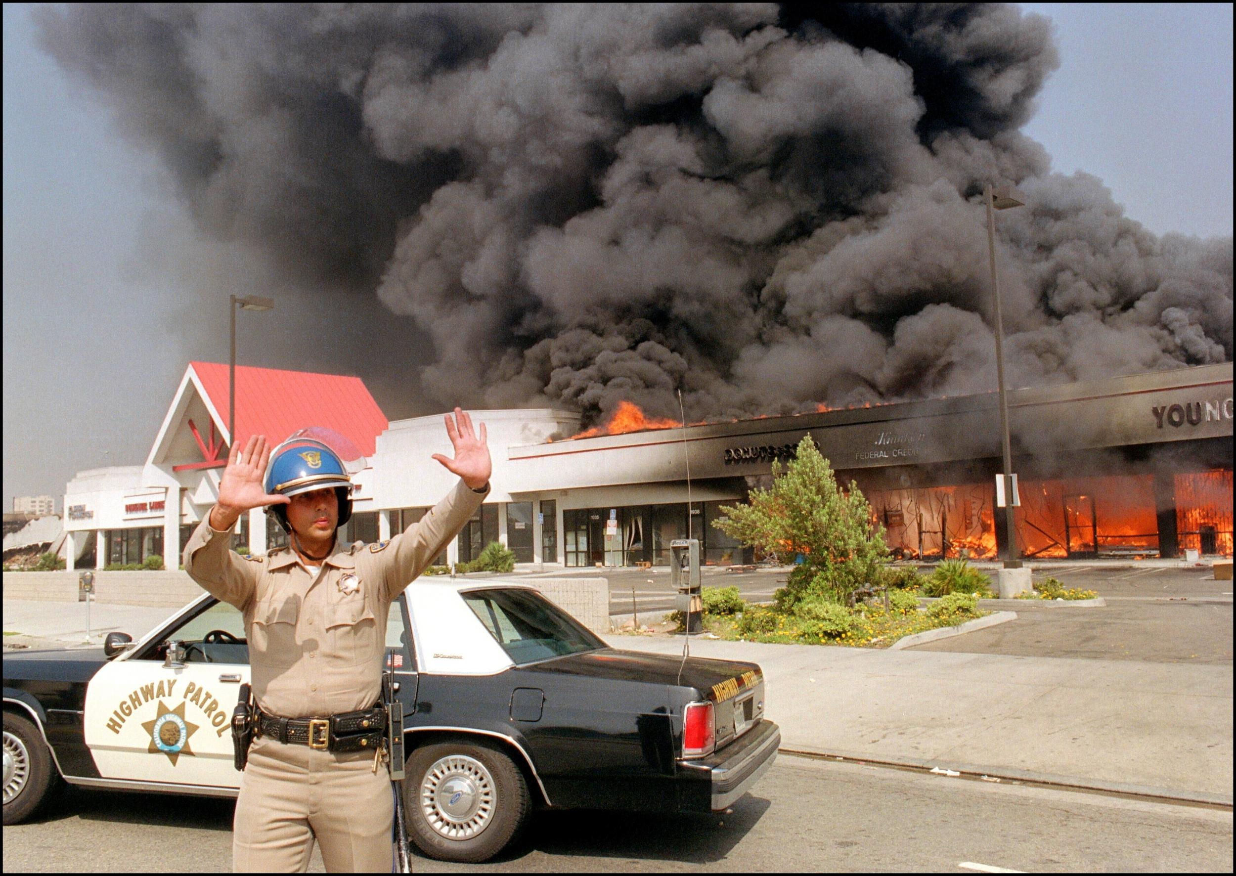 LA riots: How The Independent covered the events on this day in history photo