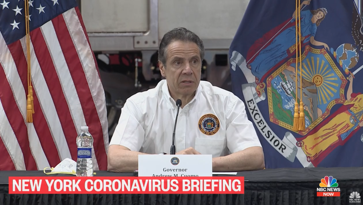 New Yorkers cannot be evicted for not paying rent in May and June, says Cuomo photo