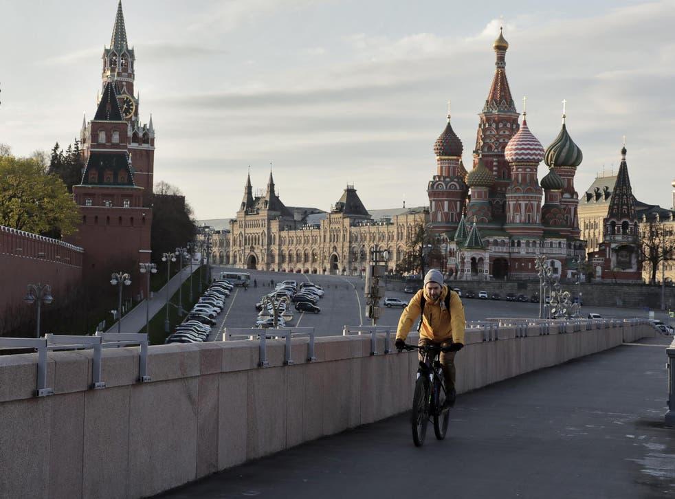 Vladimir Putin has expanded the nation's lockdown 11 May