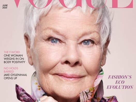 Judi Dench is 85 and on the cover of Vogue – this is the new and wonderful normal