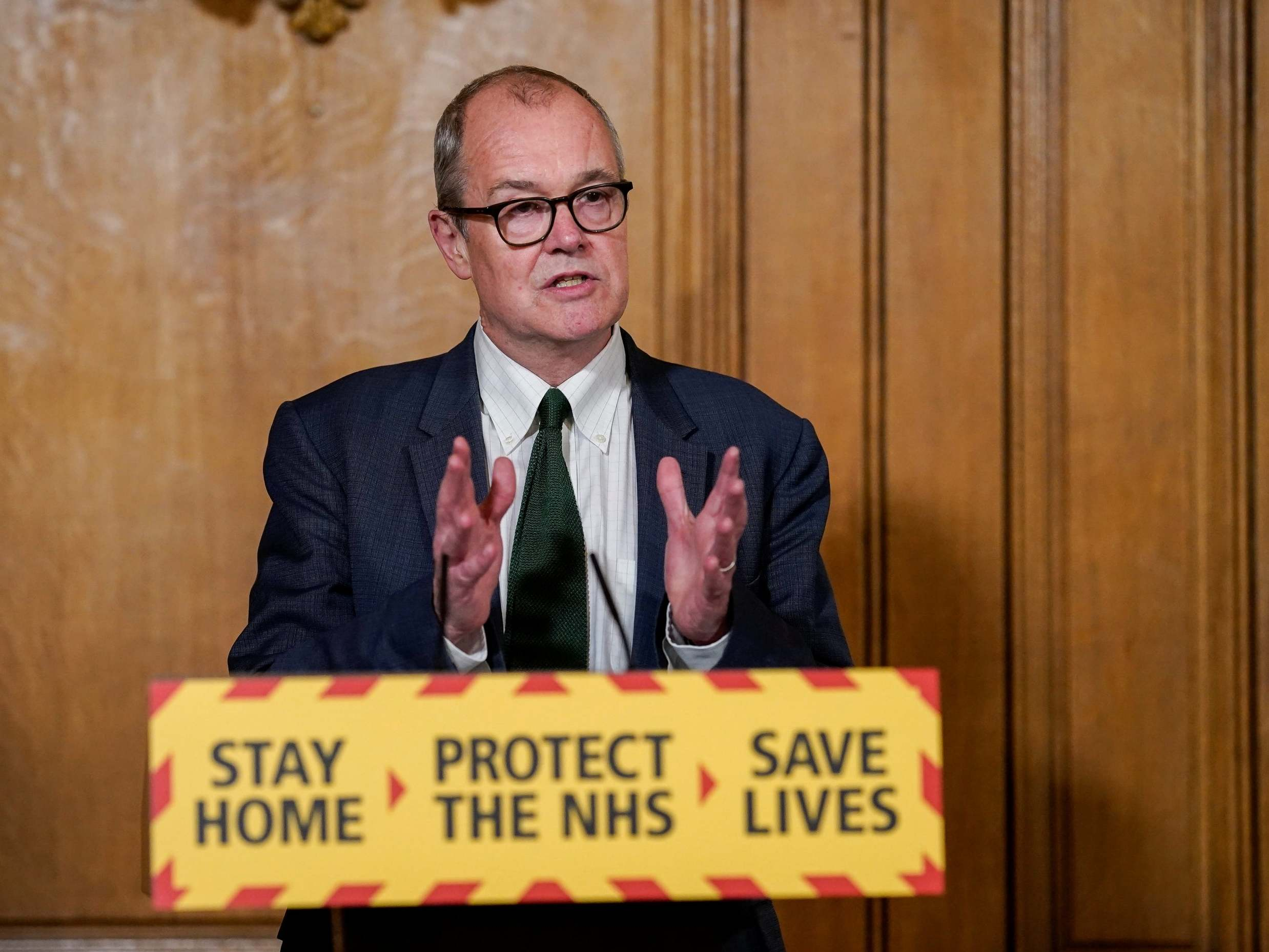 Sir Patrick Vallance, the government's chief scientist, is becoming a  problem for Boris Johnson | The Independent | The Independent