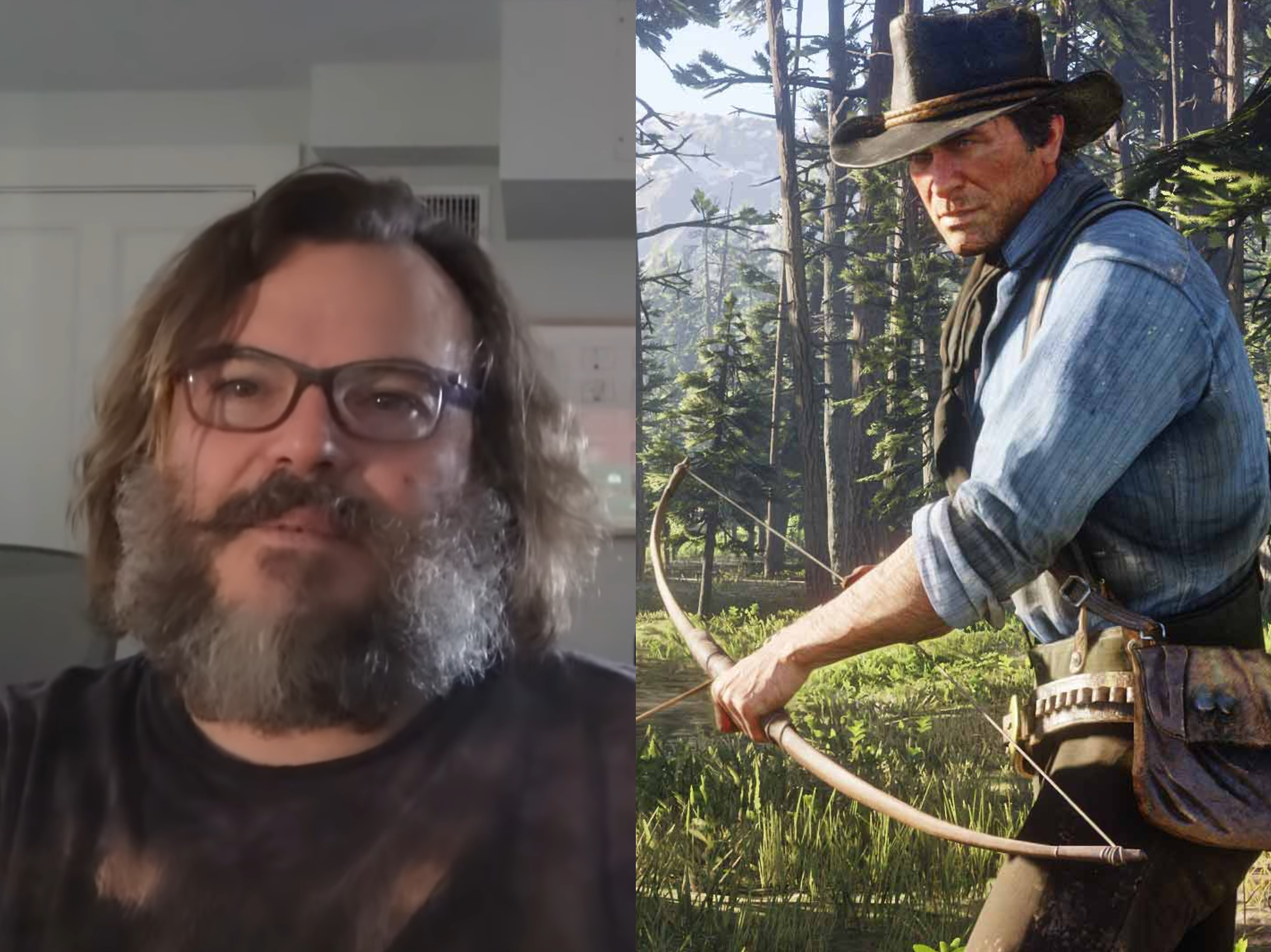 Jack Black asks to play a real-life 'hobo burglar' in Red Dead Redemption 3