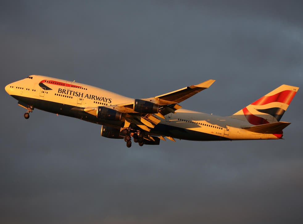 Sunset trip: British Airways and its rival, Virgin Atlantic, are grounding Boeing 747 aircraft.