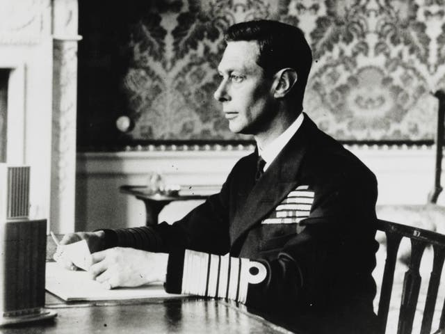 King George VI famously had difficulty with public speaking