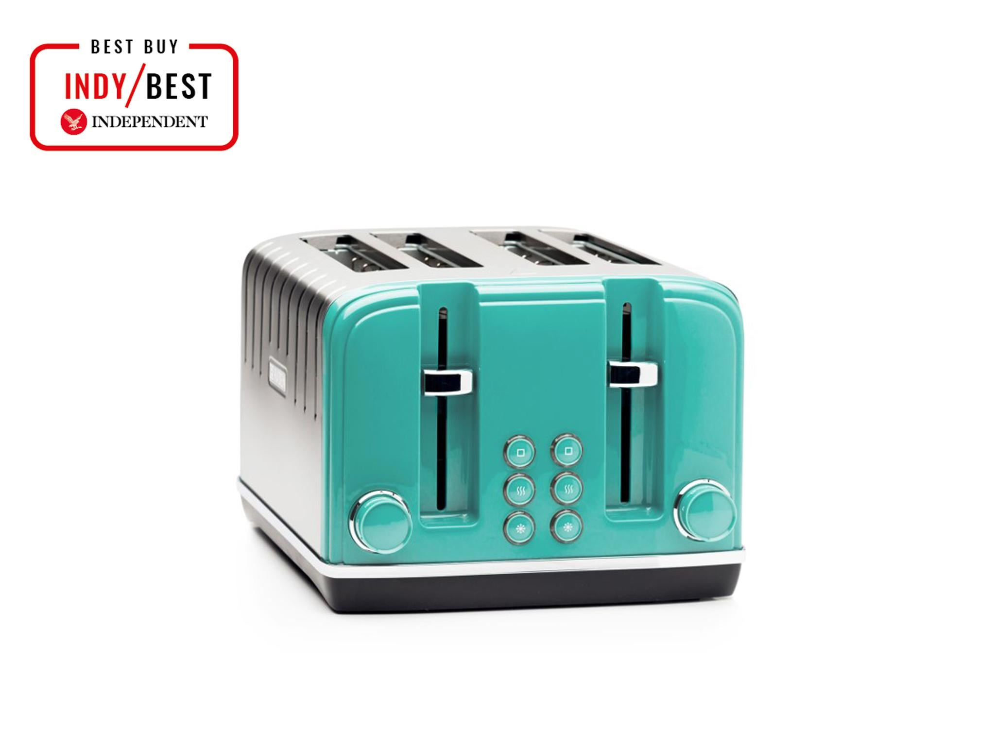 Scandi Teal Aspect Kettle and 4 Slice