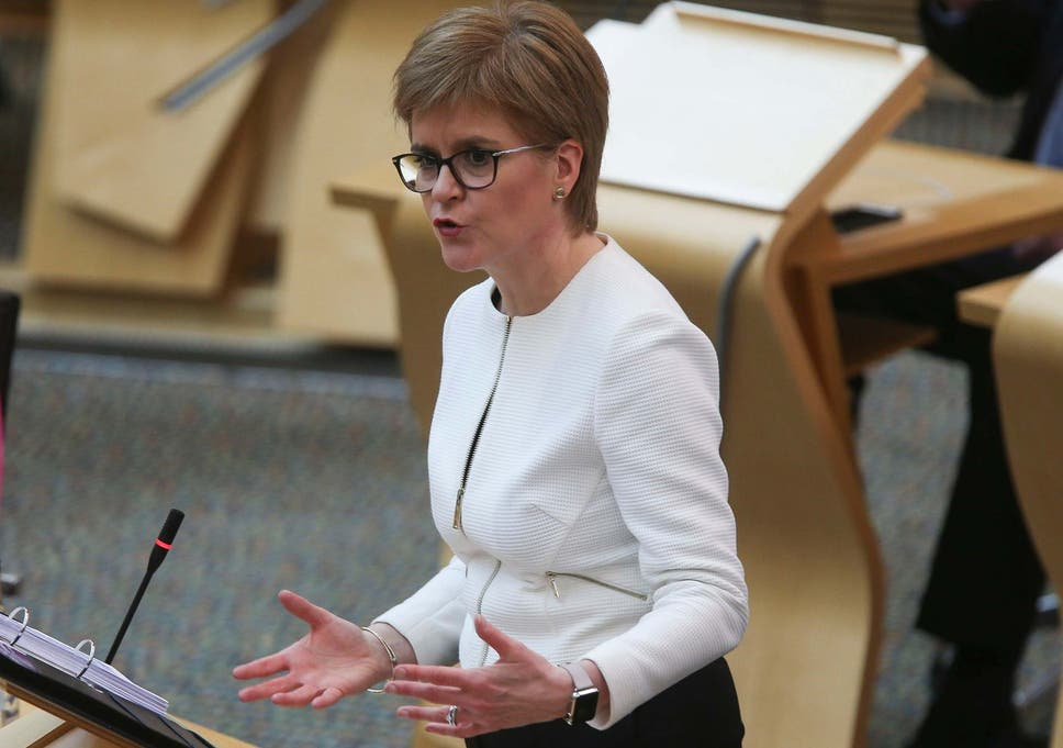 Scotland lockdown: What does Nicola Sturgeon's new roadmap mean ...