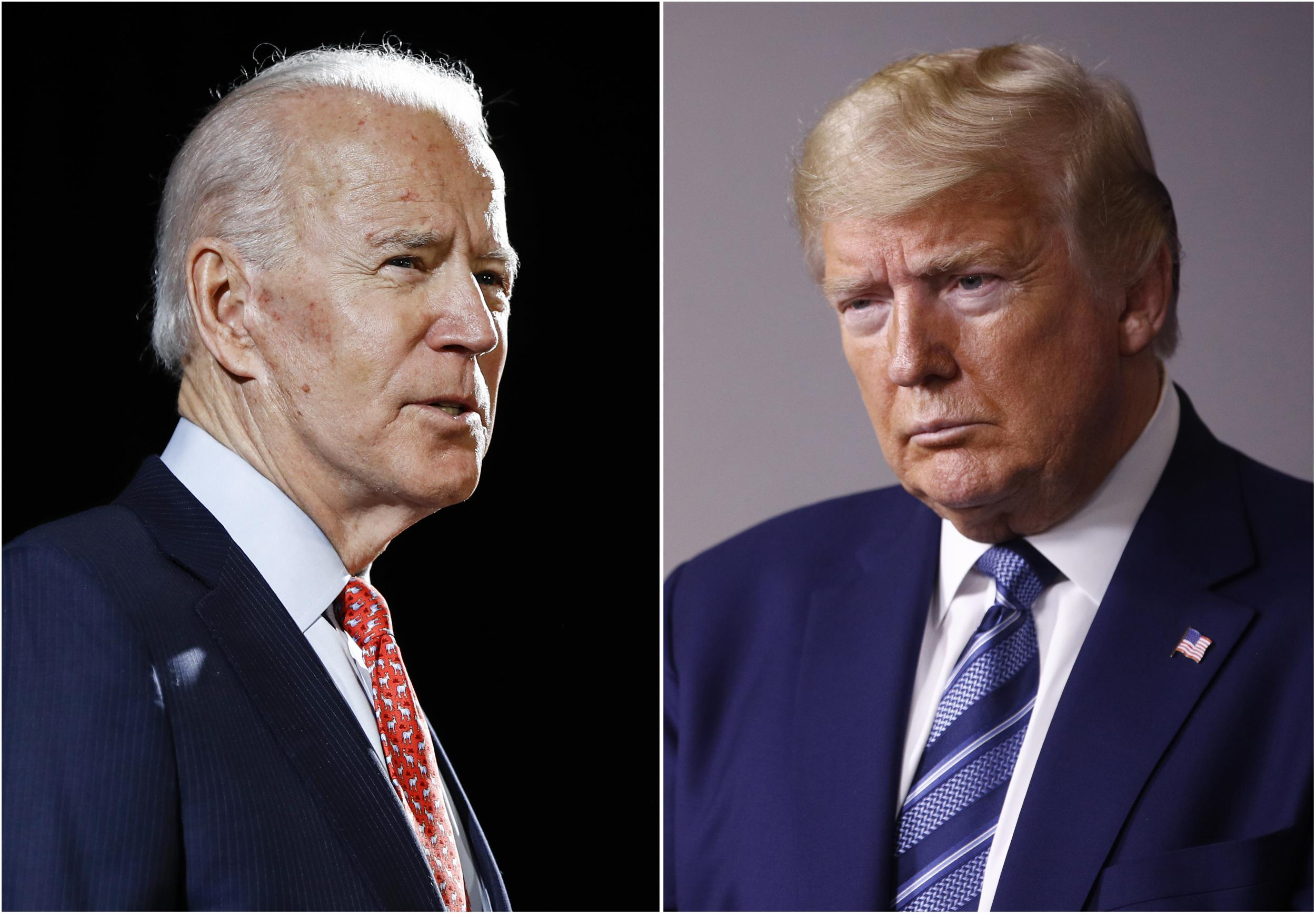 Trump And Biden Campaigns Exchange Attack Ads In Escalation Of 2020 Election The Independent The Independent