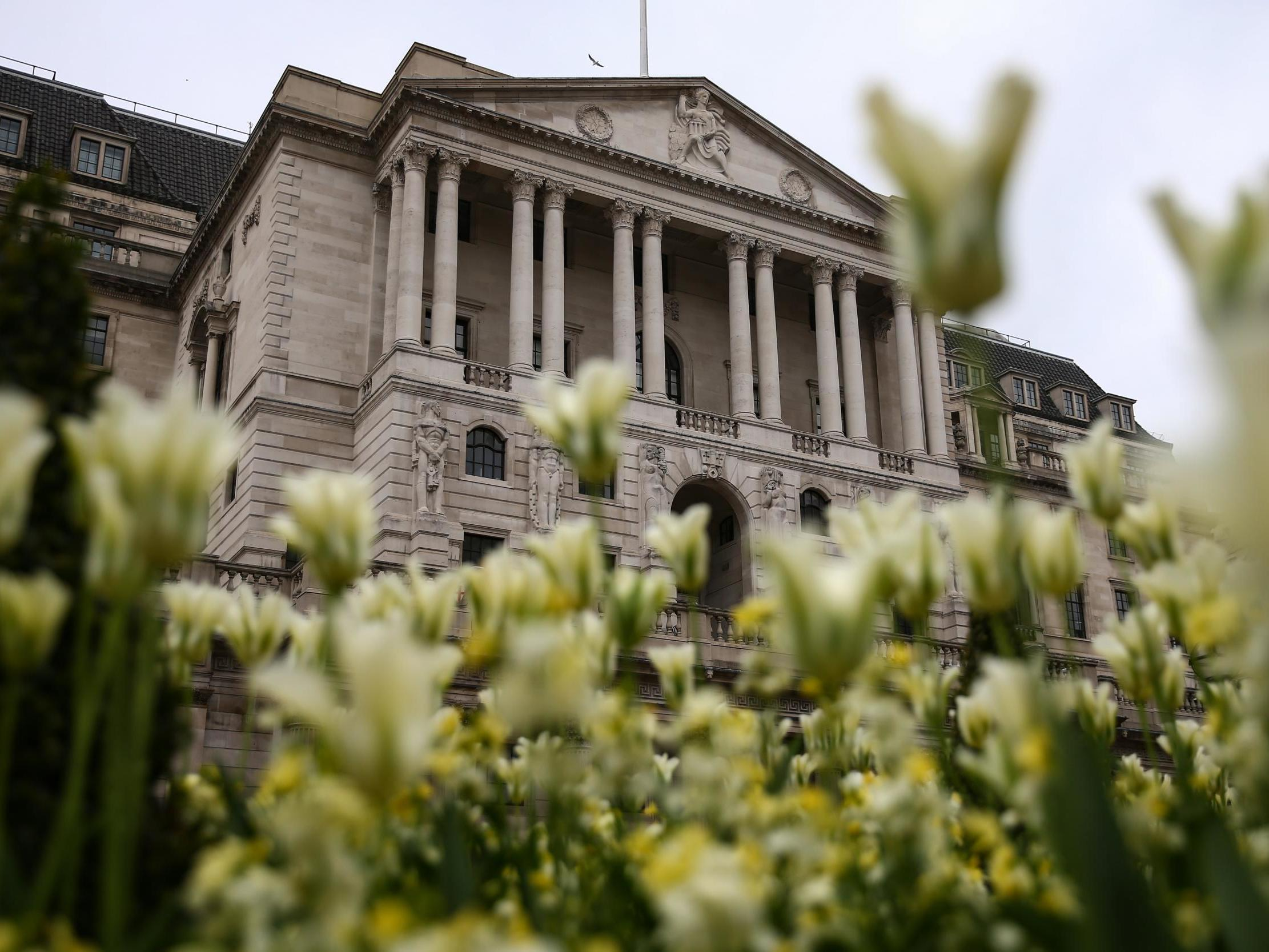 As crazy as it sounds, the Bank of England is looking on the bright side for the UK economy
