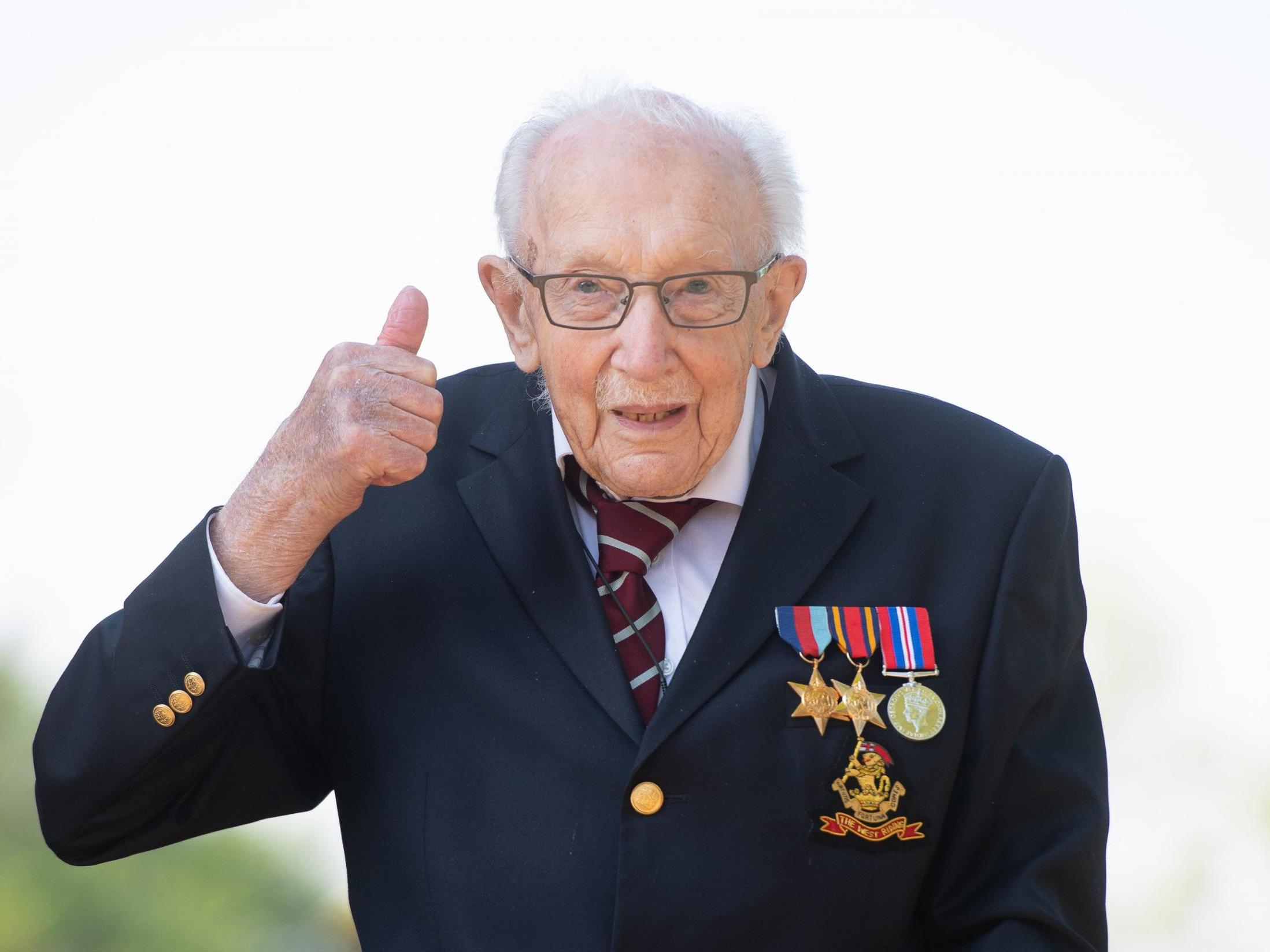 Captain Tom Moore recalls VE Day in 1945: 'It was very special'
