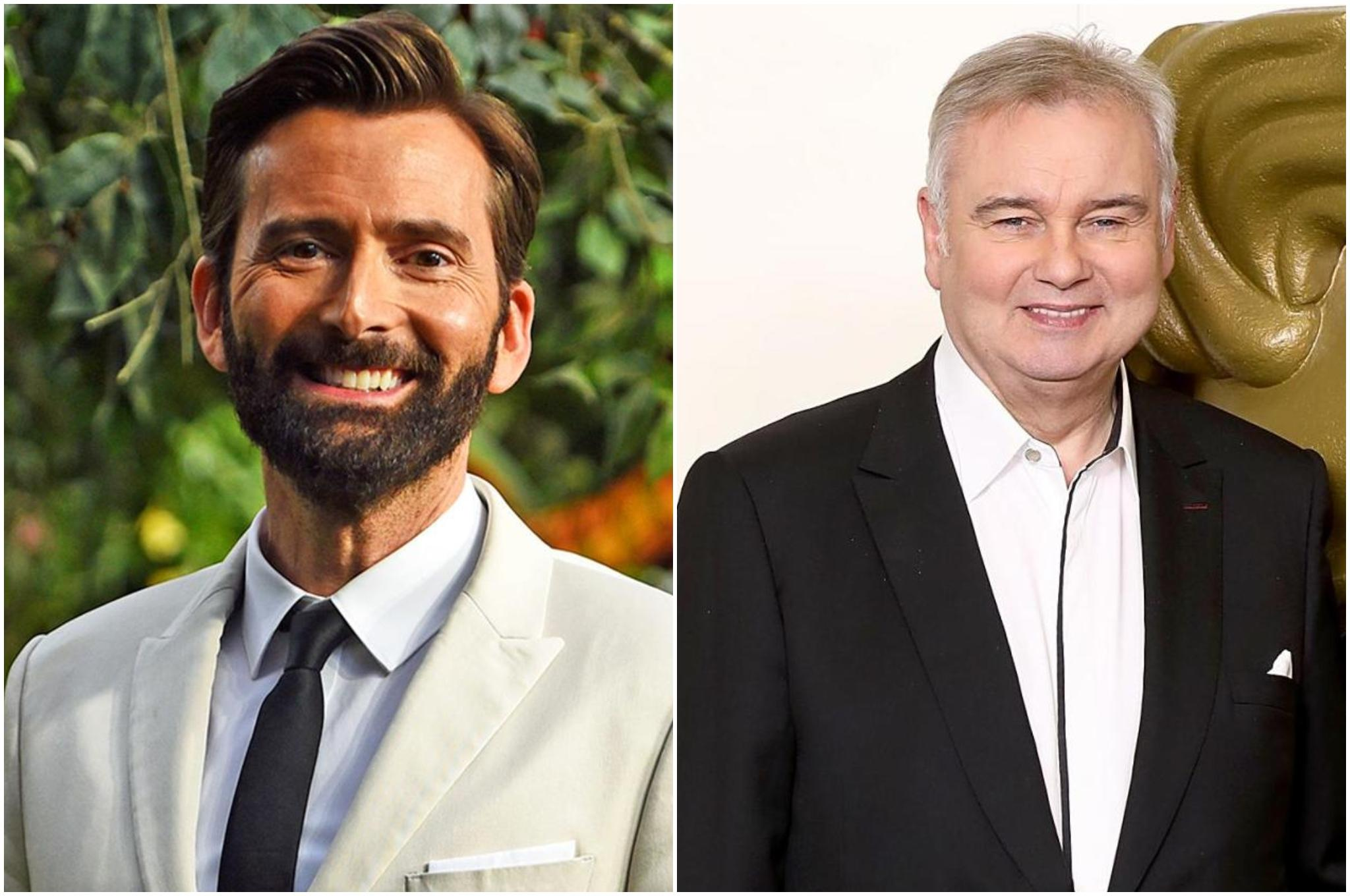 Have I Got News For You: David Tennant jokes that Eamonn Holmes lives in a 'tin foil bungalow'