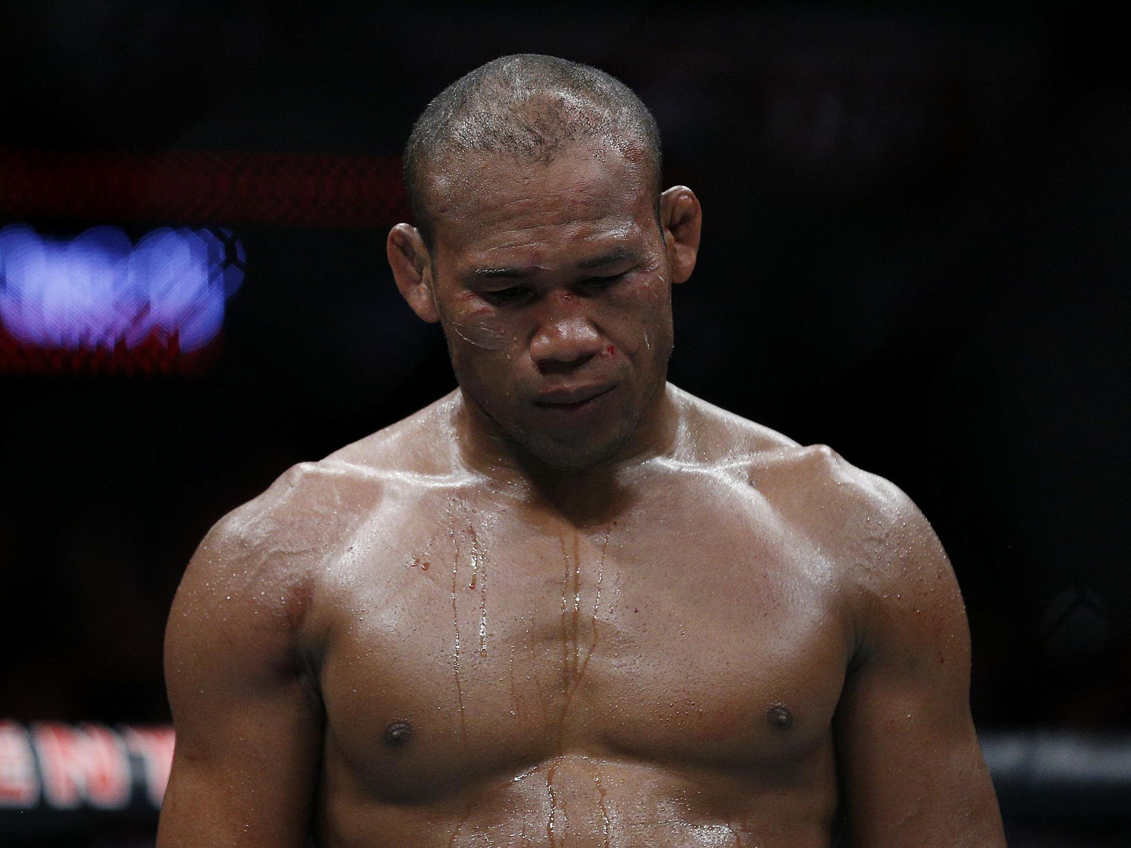 Ronaldo Souza: Fighter withdrawn from UFC 249 hours before event after testing positive for coronavirus