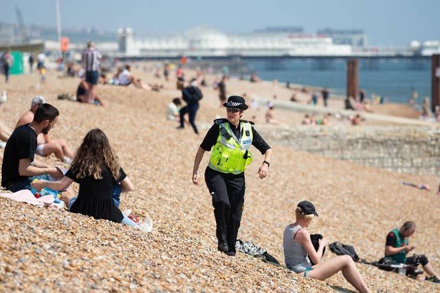 What are the new guidelines around sunbathing?