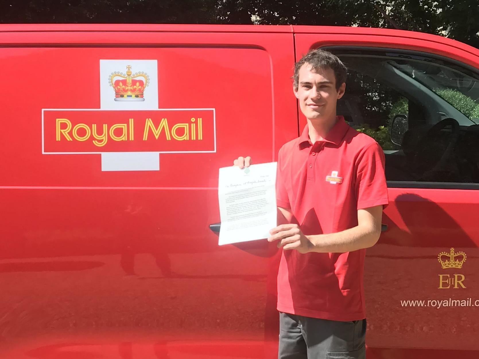 Coronavirus: Prince Charles and Duchess of Cornwall send 'heartfelt thanks' to UK postal workers in letter