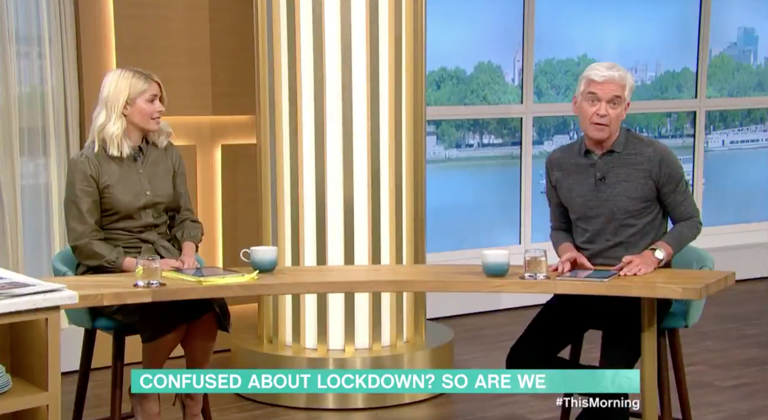 Now Phillip Schofield is attacking his lockdown exit plan on This Morning, Boris Johnson really is in trouble