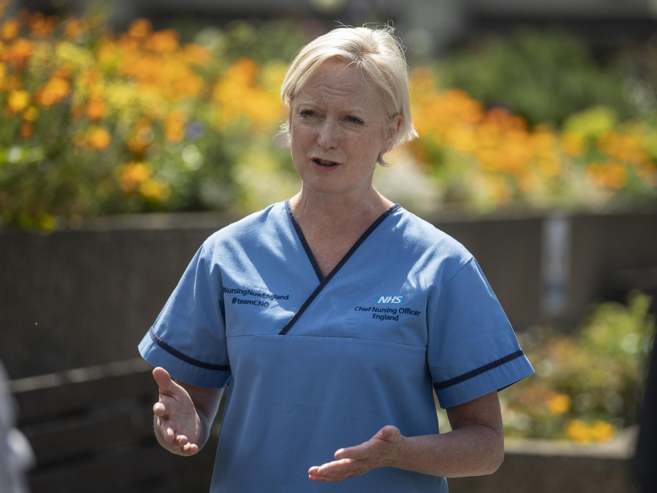 Nurses 'are expert professionals, not heroes', England's chief nursing officer says