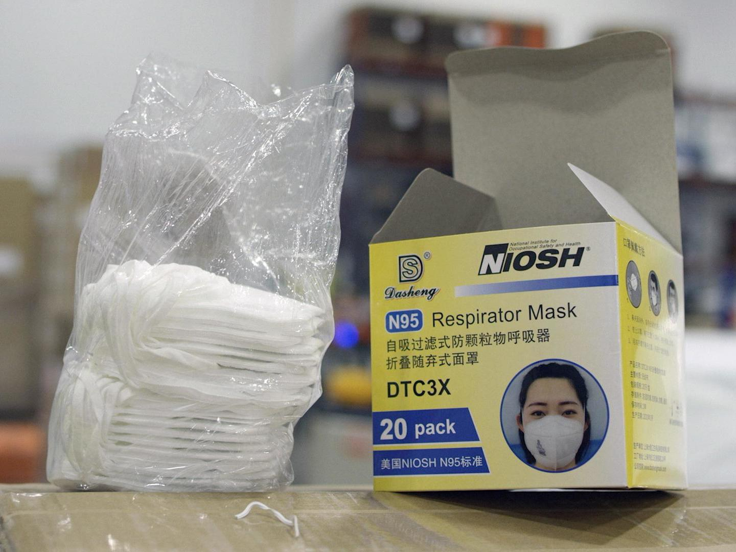 'Poorly constructed' counterfeit masks reaching US health workers thumbnail