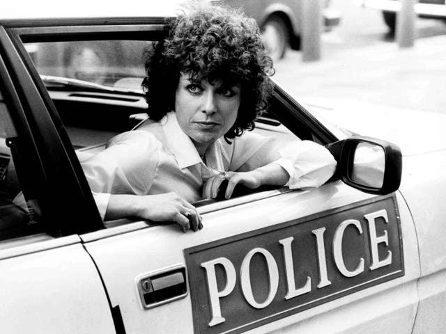 Jill Gascoine, here in 1982, as DI Maggie Forbes in the groundbreaking police drama