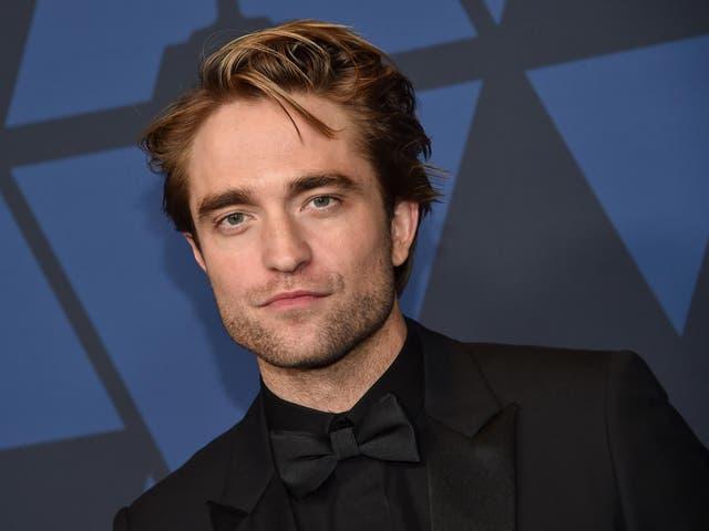 Pattinson will play Batman in the 2021 film