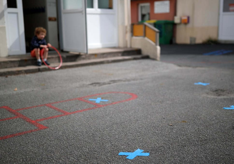 Coronavirus: 'Heartbreaking' photo shows nursery children in ...