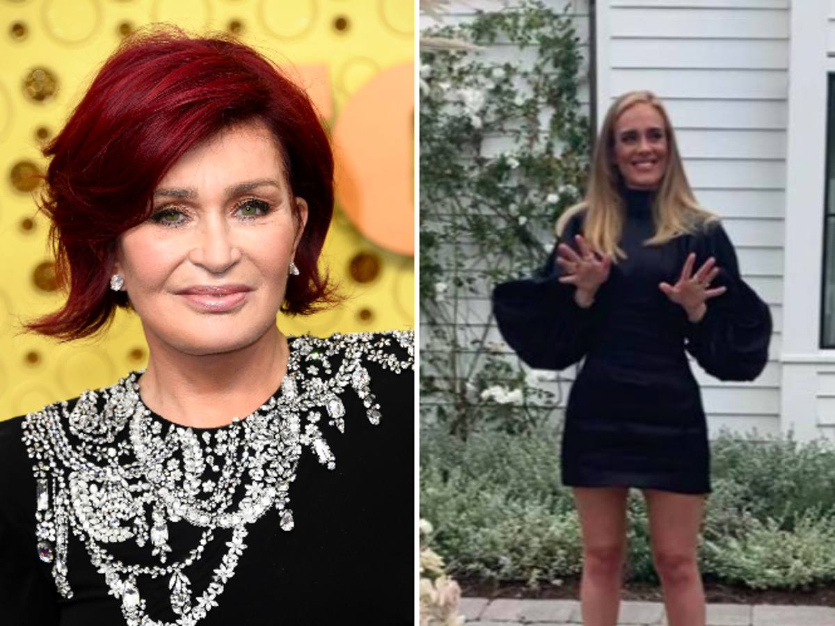 Sharon Osbourne Says She Doesn T Believe Overweight Women Are Happy While Praising Adele S Weight Loss The Independent The Independent