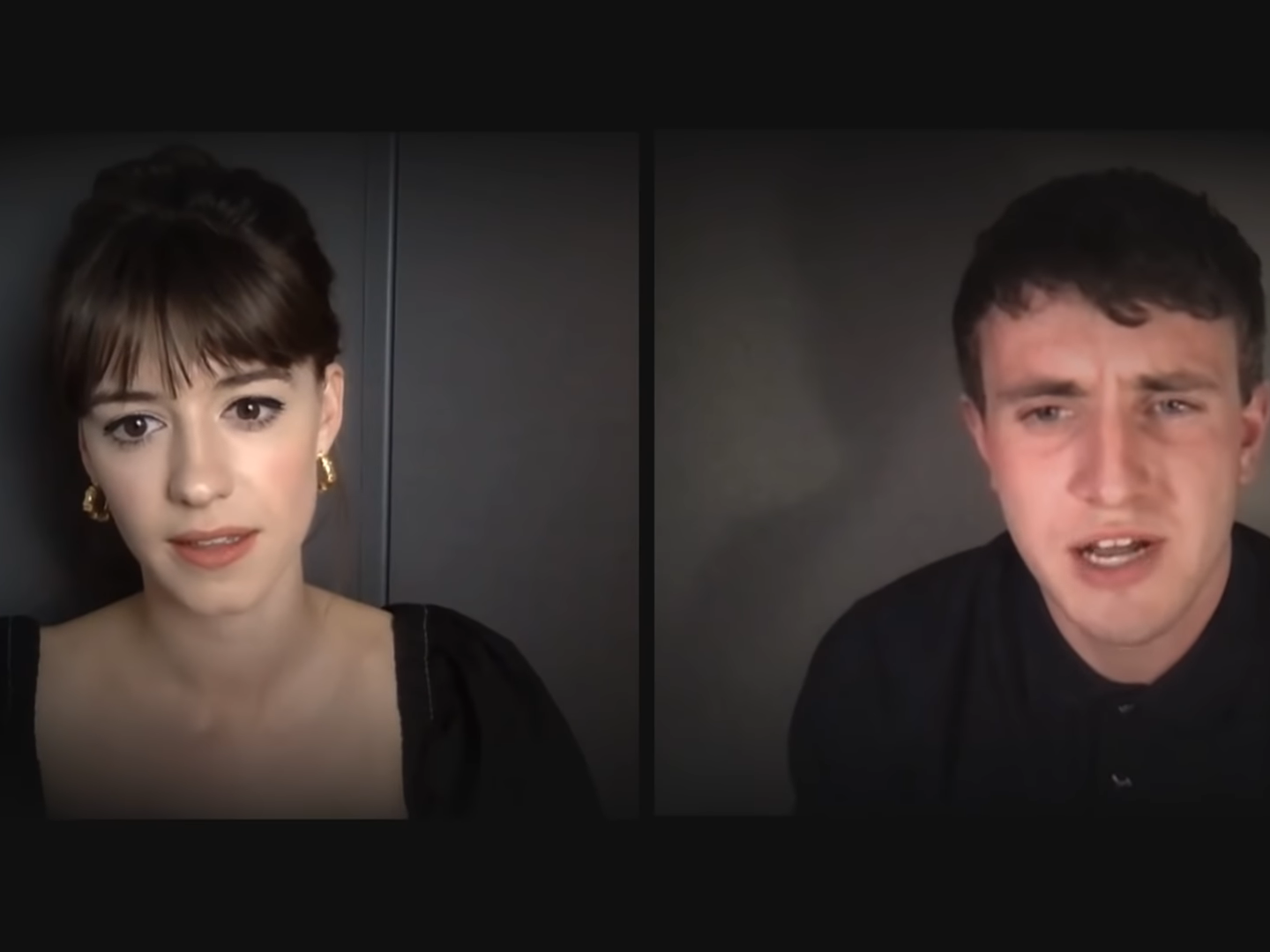 Normal People stars Daisy Edgar Jones and Paul Mescal perform sexually charged scene from Gordon Ramsay's Kitchen Nightmares