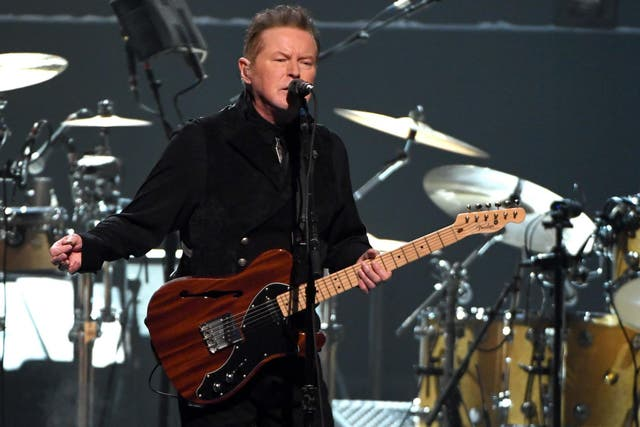 Don Henley of the Eagles performs at the MGM Grand Garden Arena on 27 September 2019 in Las Vegas, Nevada.