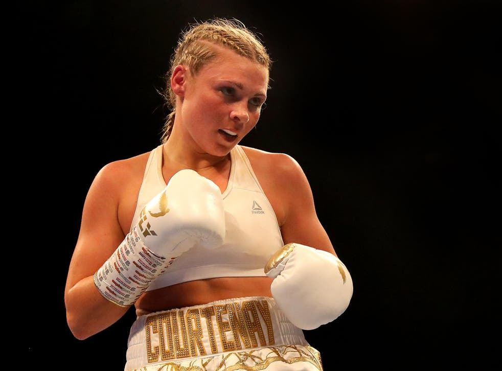 Shannon Courtenay is undefeated as a professional