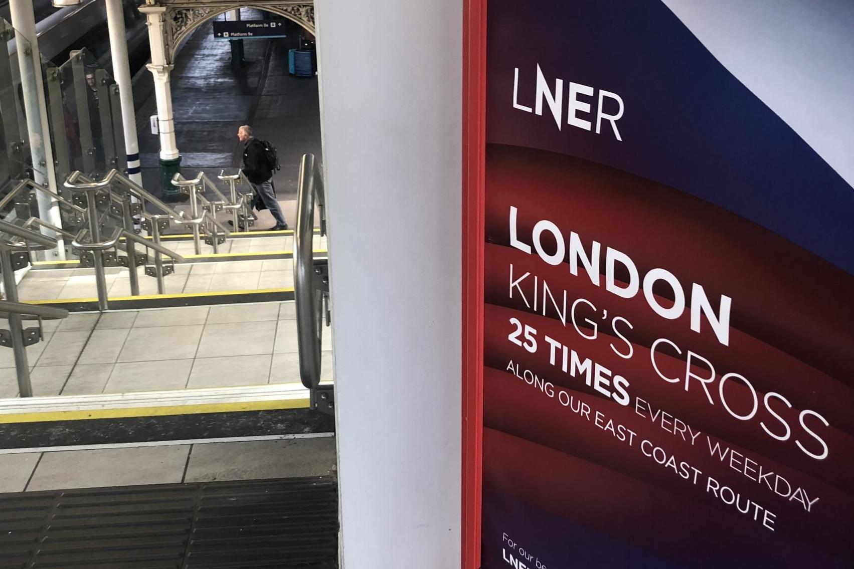 Book your train seat in advance or risk being turned away, says LNER