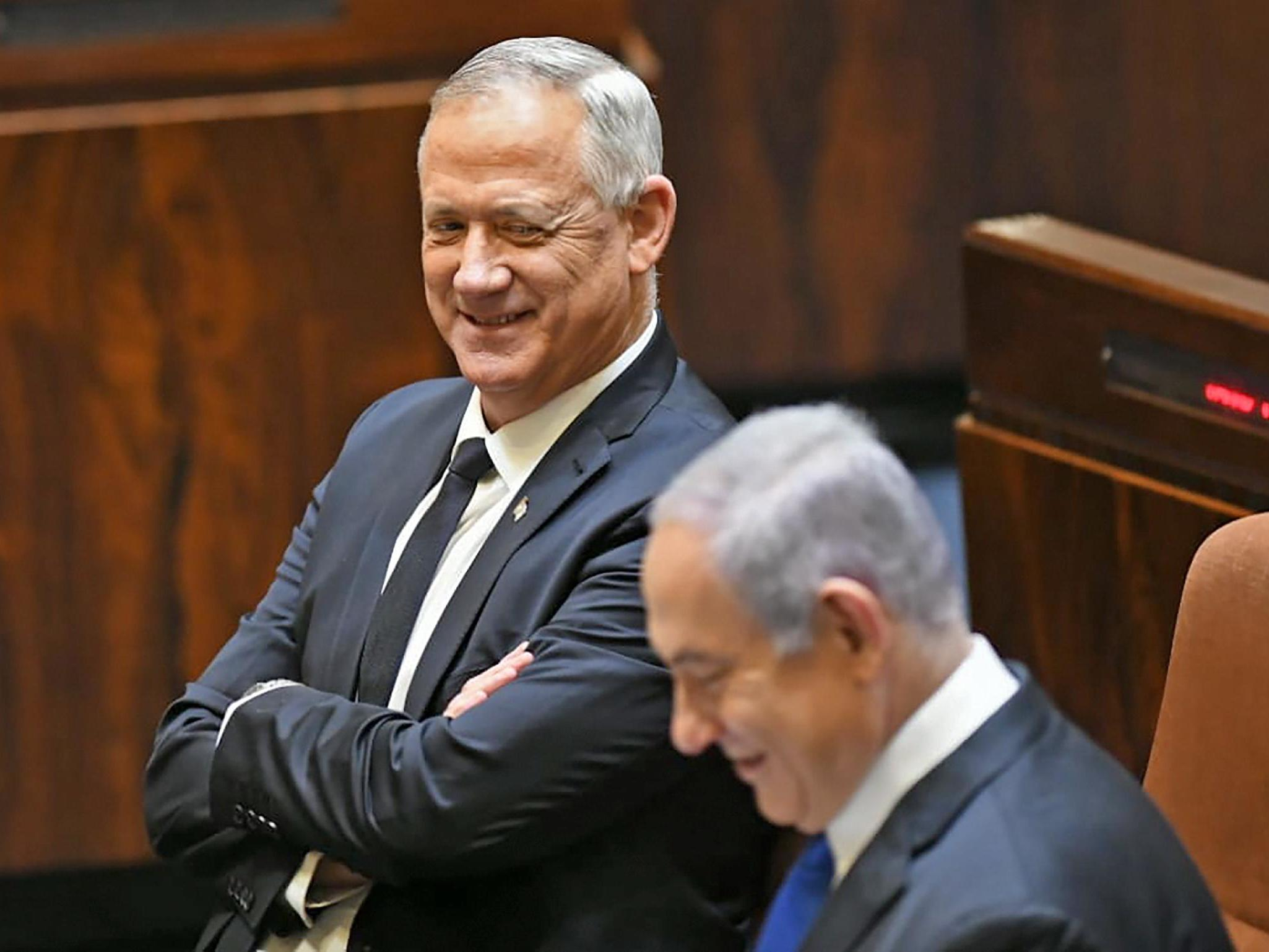 New Israeli government finally sworn in after power-sharing deal struck