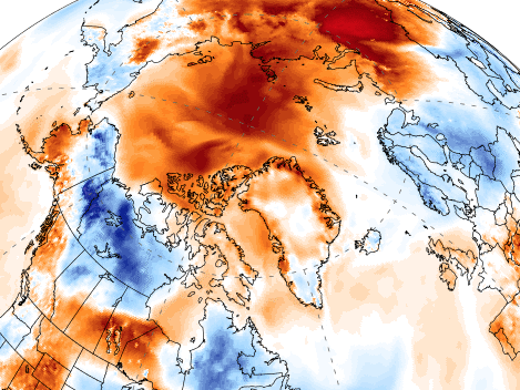 Arctic is 'warmer than ever' this season, as ice starts to melt early
