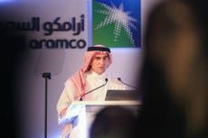 Saudi Aramco profits plunge 73 per cent as oil demand falls