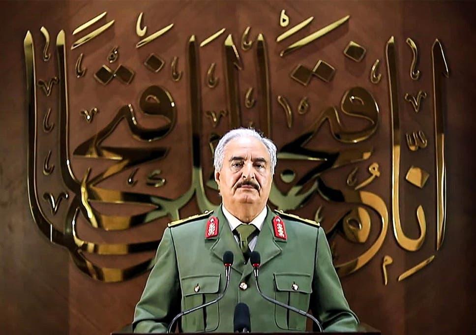 Military strongman Khalifa Haftar