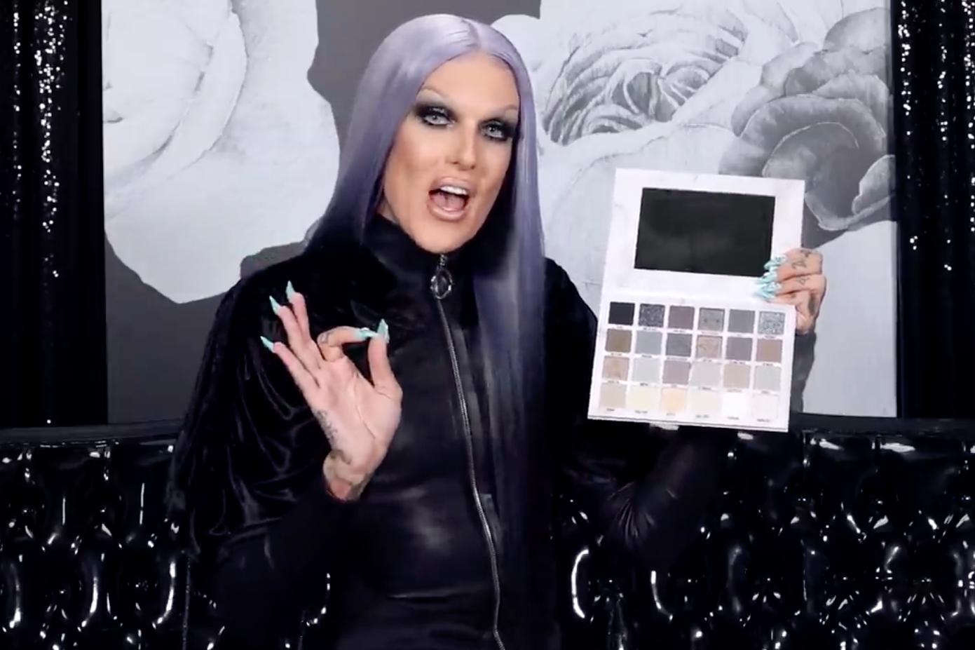 Jeffree Star defends 'Cremated' makeup palette after backlash